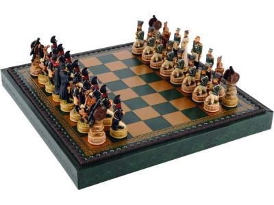 OA93P-BLK1 Шахматы Бородино, зеленый