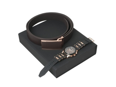 OA200302660 CHRISTIAN LACROIX. Подарочный набор Seal: ремень, хронограф. Christian Lacroix