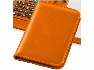 OA15094252 Блокнот А6 Smarti с калькулятором, оранжевый