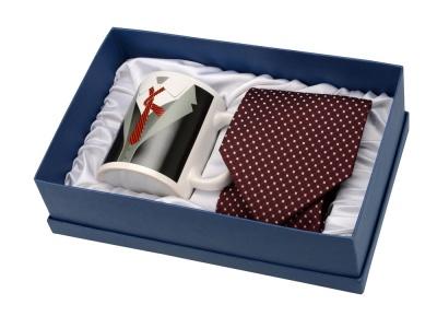 OA1701401141 Набор: кружка и галстук Утро джентльмена