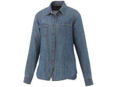 OA183032591 Elevate. Рубашка Sloan с длинными рукавами женская, джинс