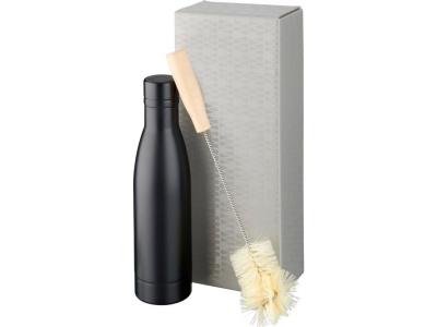 OA2003028973 Avenue. Набор из медной бутылки с вакуумной изоляцией Vasa и щетки, черный