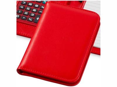 OA15094249 Блокнот А6 Smarti с калькулятором, красный