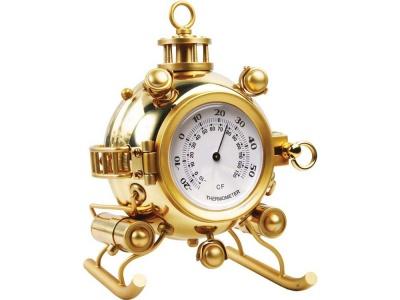 OA20O-GLD4 Настольный термометр Батискаф, золотистый