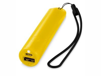 OA15095052 Портативное зарядное устройство Beam, 2200 mAh, желтый