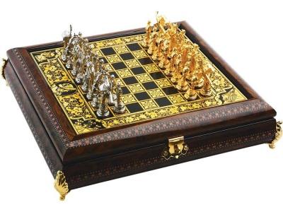 OA93P-GLD1 Шахматы Дон Кихот