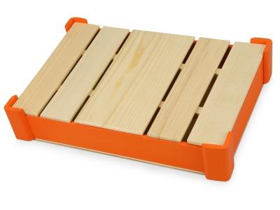 OA1701222710 Подарочная деревянная коробка, оранжевый