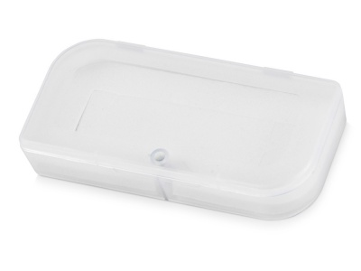 OA2003023358 Подарочная коробка для флеш-карт Бокс в шубере, белый прозрачный