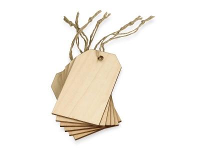 OA2003021077 Набор деревянных ярлыков 9,3*5,5 см, 6шт