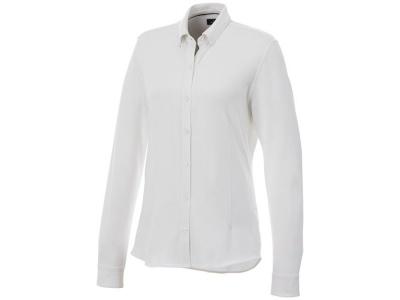 OA2003026450 Elevate. Женская рубашка Bigelow из пике с длинным рукавом, белый