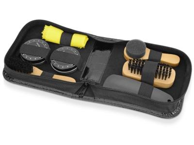OA1701221559 Набор для чистки обуви Шайн, черный, желтый, дерево