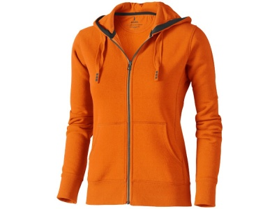 OA90TX-ORG4S Elevate. Толстовка Arora женская с капюшоном, оранжевый
