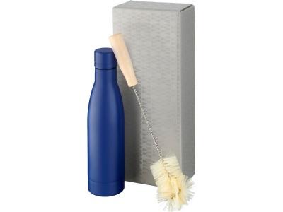 OA2003028977 Avenue. Набор из медной бутылки с вакуумной изоляцией Vasa и щетки, cиний