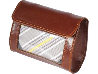 OA98A-BRN5 Alessandro Venanzi. Футляр для галстука Alessandro Venanzi, коричневый