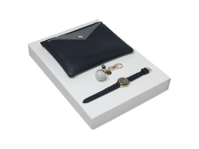 OA200302647 Cacharel. Подарочный набор Bird: брелок, часы наручные, сумочка. Cacharel