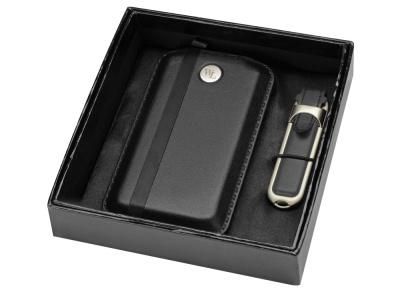 OA1701407743 William Lloyd. Набор: портативное зарядное устройство, флеш-карта на 8 Гб, черный