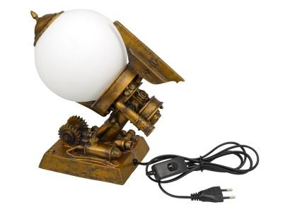 OA1701407132 Лампа настольная, бронзовый/белый