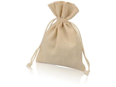 OA1701222971 Мешочек подарочный, лен, средний, натуральный