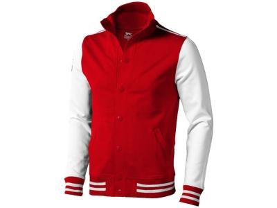 OA90TX-RED17S Slazenger. Толстовка Varsity, красный/натуральный белый