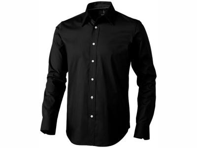 OA28TX-1617 Elevate. Рубашка Hamilton мужская с длинным рукавом, черный