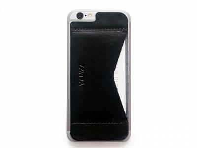 OA1701221634 ZAVTRA. Кошелек-накладка на iPhone 6/6s, черный