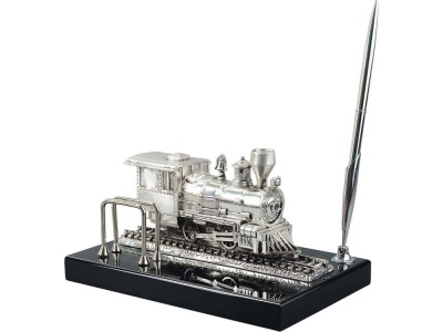 OA20O-BLK9 Настольный прибор Железнодорожный, серебристый/черный