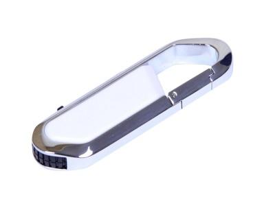 OA2003025458 Флешка в виде карабина, 32 Гб, белый/серебристый