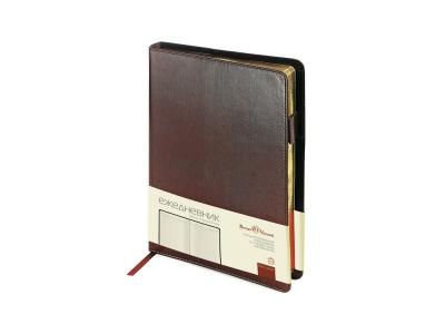 OA2003023316 Bruno Visconti. Ежедневник полудатированный портфолио А5  PROFY коричневый