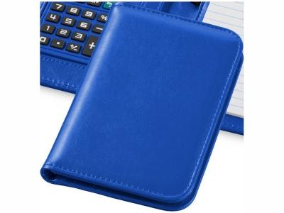 OA15094248 Блокнот А6 Smarti с калькулятором, ярко-синий