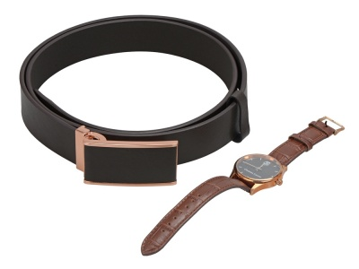 OA2003021573 CHRISTIAN LACROIX. Подарочный набор: наручные часы Poursuite, ремень Seal. Christian Lacroix