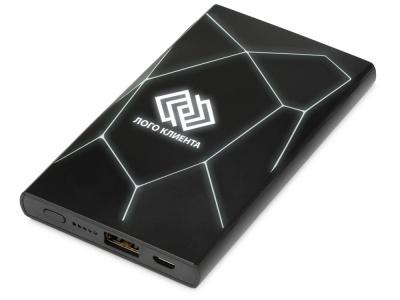 OA2003027401 Xoopar. Портативное беспроводное зарядное устройство Geo Wireless, 5000 mAh, черный