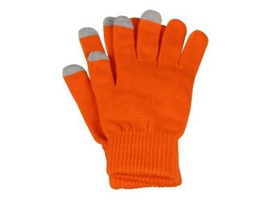 OA200302407 Перчатки для сенсорного экрана Сет, S/M, оранжевый