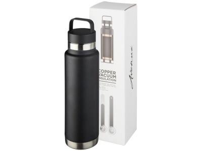 OA2003027597 Avenue. Медная спортивная бутылка с вакуумной изоляцией Colton объемом 600 мл, черный