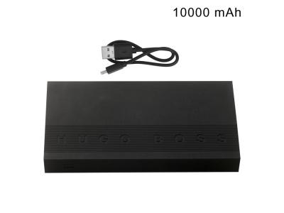 OA2003028546 Hugo Boss. Портативное зарядное устройство Edge Black, 10000 mAh