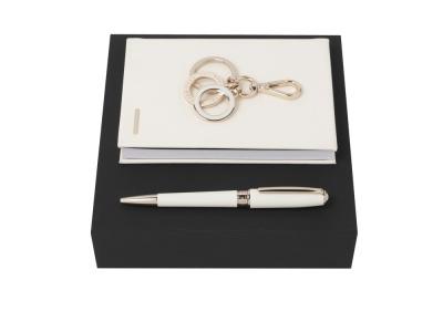 OA2003021997 Hugo Boss. Подарочный набор: блокнот А6, ручка шариковая, брелок. Hugo Boss