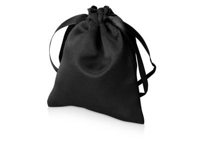 OA2003022403 Мешочек подарочный сатиновый S, черный