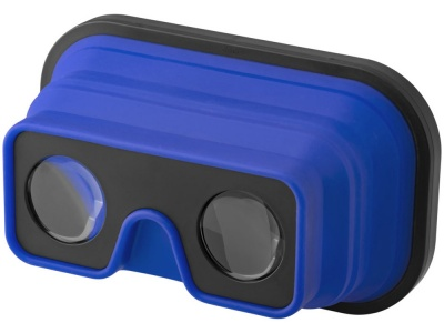 OA1701222241 Складные силиконовые очки виртуальной реальности, ярко-синий/черный