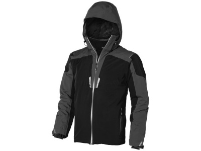 OA1701403008 Elevate. Куртка Ozark мужская, черный/серый