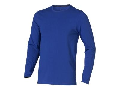 OA1701403133 Elevate. Футболка Ponoka  мужская с длинным  рукавом, синий