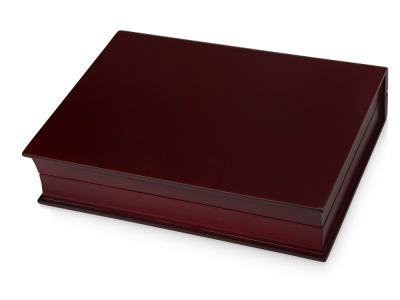 OA1701222653 Подарочная коробка Браун, красное дерево/черный/золотистый