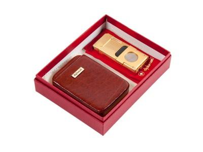 OA2003026737 Diplomat. Подарочный набор: визитница и стильная зажигалка