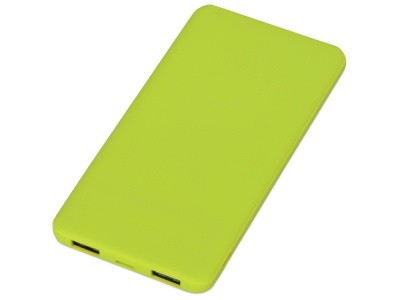 OA2003024314 Evolt. Портативное зарядное устройство Reserve с USB Type-C, 5000 mAh, зеленое яблоко