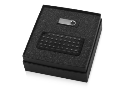 OA2003023793 Подарочный набор Move-it с флешкой и портативной колонкой, черный