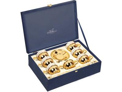 OA1701401376 CHINELLI. Чайный набор Chinelli, золотистый/белый