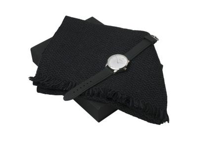 OA200302766 Ungaro. Подарочный набор Celso: шарф, часы наручные мужские. Ungaro