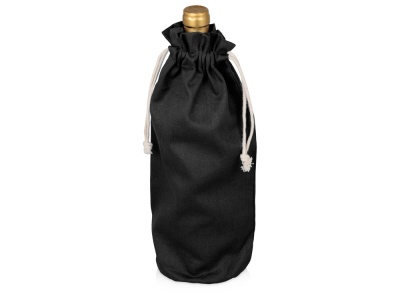OA2003027211 Хлопковая сумка для вина, черный