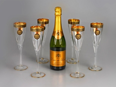 OA1701401325 Набор бокалов для шампанского Сила льва