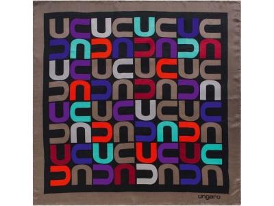 OA1701401412 Ungaro. Платок шелковый Ungaro модель Monogramma