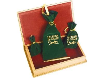 OA1701401222 Laurens de Graff. Набор: часы песочные, нож для бумаг, ручка шариковая, брелок-термометр Клипер