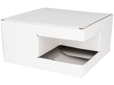 OA2003023187 Подарочная коробка для кружек (для 4 керамических предметов), белый, белый